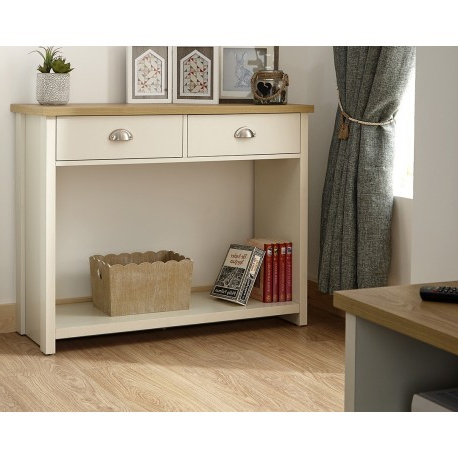 Most Current Lancaster Corner Tv Stands Regarding Lancaster Console Hall Table In Cream – Brixton Beds (View 4 of 10)