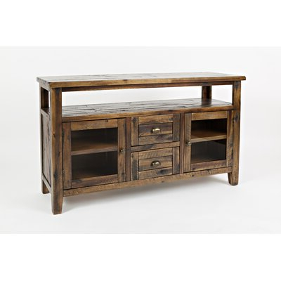 Most Current Leija Cabinet/enclosed Storage Tv Stand For Tvs Up To 60 Throughout Boahaus Dakota Tv Stands With 7 Open Shelves (View 4 of 10)