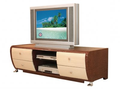 Most Current Mainstays Tv Stands For Tvs With Multiple Colors Within Two Tone Contemporary Tv Stand With Drawers (View 2 of 10)