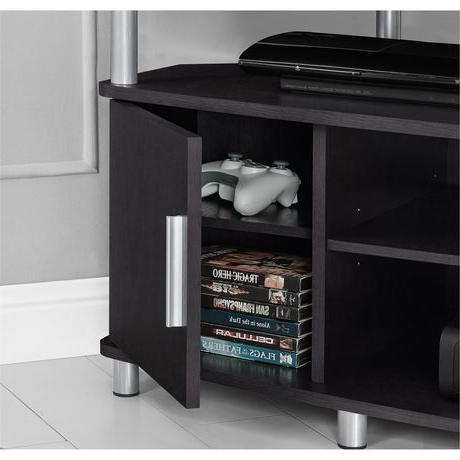 """Most Current Virginia Tv Stands For Tvs Up To 50"""" Intended For Carson Corner Tv Stand For Tvs Up To 50"""", Black/cherry (View 5 of 10)"""