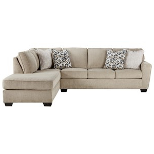 Most Popular 2pc Burland Contemporary Chaise Sectional Sofas Inside Signature Designashley Decelle Contemporary 2 Piece (View 2 of 10)