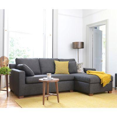 Most Popular Ankara Left Hand Corner Sofa Bed With Storage Truffle Regarding Prato Storage Sectional Futon Sofas (View 3 of 10)