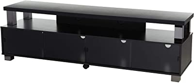 Most Popular Bromley Oak Corner Tv Stands Within Amazon: Homcom Leaning Ladder Bookcase/entertainment (View 5 of 10)