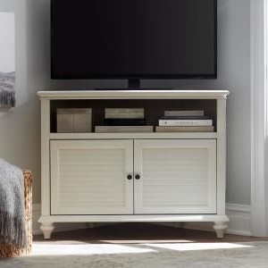 Most Popular Corona White Corner Tv Unit Stands With Home Decorators Collection Hamilton 31 In (View 1 of 10)