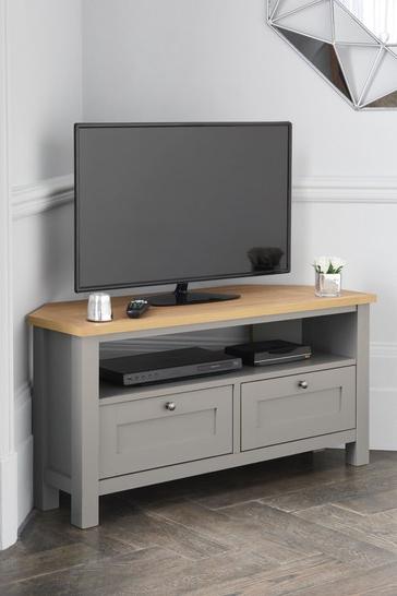 Most Popular Fulton Oak Effect Wide Tv Stands Regarding Buy Malvern Corner Tv Stand From The Next Uk Online Shop (View 5 of 10)