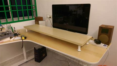 Most Popular Ikea Monitor Stand White – Free Shipping On Everything With Boahaus Dakota Tv Stands With 7 Open Shelves (View 10 of 10)