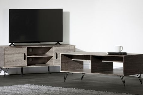 Most Popular South Shore Evane Tv Stand With Doors For Tvs Up To 55 Within South Shore Evane Tv Stands With Doors In Oak Camel (View 6 of 10)
