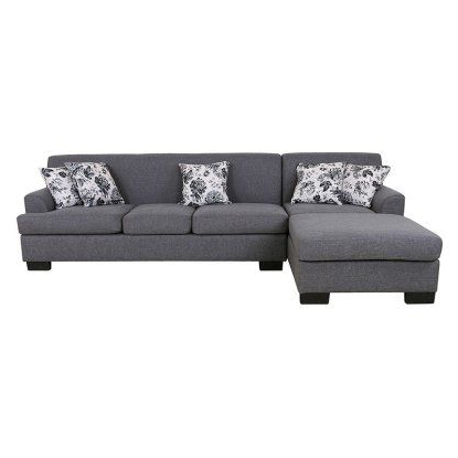 Most Recent 2pc Burland Contemporary Chaise Sectional Sofas Regarding U.s (View 8 of 10)