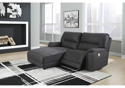 Most Recent 2pc Maddox Right Arm Facing Sectional Sofas With Chaise Brown Inside Henefer Midnight 2 Piece Right Arm Facing Power Chaise (View 9 of 10)