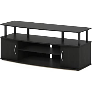 Most Recent Amazon: Avf Sdc1000 A Tv Stand For Up To 50 Inch Tvs Throughout Furinno Jaya Large Tv Stands With Storage Bin (View 5 of 10)