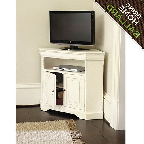 Most Recent Angullo Corner Media Cabinet For #399 From Ballard Designs Inside Manhattan Compact Tv Unit Stands (View 4 of 10)
