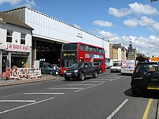Most Recent Bromley Blue Tv Stands Intended For List Of Bus Garages In London – Wikipedia (View 9 of 10)
