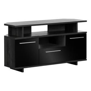 """Most Recent Corner Tv Stands For Tvs Up To 48"""" Mahogany Inside Welwick Designs 48 In (View 9 of 10)"""