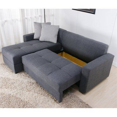 Most Recent Hugo Chenille Upholstered Storage Sectional Futon Sofas Intended For Dhp Sutton Convertible Sectional Sofa At Atg Stores (View 10 of 10)