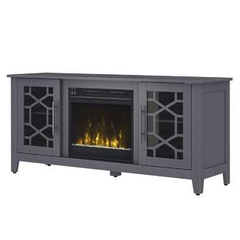 """Most Recent Lorraine Tv Stand For Tvs Up To 55"""" With Electric Pertaining To Lorraine Tv Stands For Tvs Up To 60"""" With Fireplace Included (View 1 of 10)"""