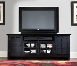 Most Recent New Generation 75 Inch Tv Stand In Rubbed Black Finish For Rfiver Modern Black Floor Tv Stands (View 7 of 10)