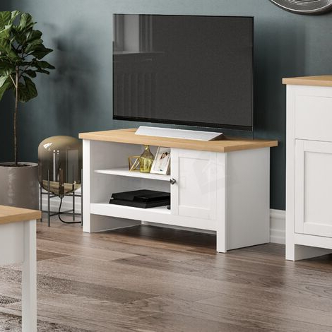 Most Recent Tv Stands Pertaining To 57'' Led Tv Stands With Rgb Led Light And Glass Shelves (View 10 of 10)