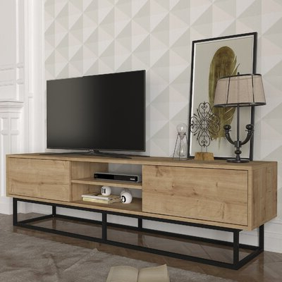 """Most Recently Released Bustillos Tv Stands For Tvs Up To 85"""" Regarding Union Rustic Fitzgibbon Tv Stand For Tvs Up To 85"""" (View 1 of 10)"""