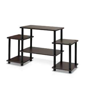 Most Recently Released Furinno Turn N Tube No Tools Entertainment Tv Stands, Dark Within Furinno Turn N Tube No Tool 3 Tier Entertainment Tv Stands (View 3 of 10)