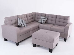 Most Recently Released Good & Gracious Sectional Sofa Set, L Shaped Couch With With Regard To Palisades Reversible Small Space Sectional Sofas With Storage (View 7 of 10)