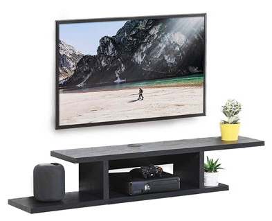 Most Recently Released Top 10 Best Floating Tv Stands In 2020 Reviews With Space Saving Gaming Storage Tv Stands (View 3 of 10)