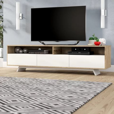"""Most Recently Released Wade Logan Rafael Tv Stand For Tvs Up To 65"""" & Reviews In Logan Tv Stands (View 5 of 10)"""