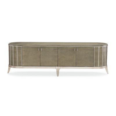 """Most Up To Date Caracole Compositions Avondale Solid Wood Tv Stand For Tvs With Ailiana Tv Stands For Tvs Up To 88"""" (View 10 of 10)"""