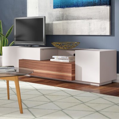 """Most Up To Date Latitude Run® Kah Tv Stand For Tvs Up To 78"""" & Reviews Regarding Ansel Tv Stands For Tvs Up To 78"""" (View 3 of 10)"""