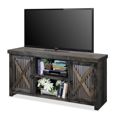 """Most Up To Date Miconia Solid Wood Tv Stands For Tvs Up To 70"""" Pertaining To Wrought Iron Tv Stand (View 6 of 10)"""