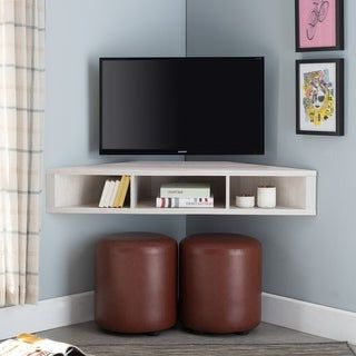Most Up To Date Overstock: Online Shopping – Bedding, Furniture Regarding Freya Corner Tv Stands (View 1 of 10)