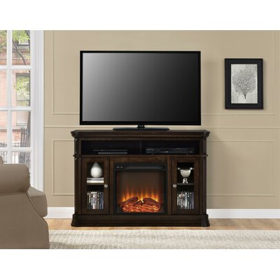 """Neilsen Tv Stands For Tvs Up To 50"""" With Fireplace Included In Well Known Astoria Grand Carlisle Tv Stand For Tvs Up To 50 Inches (View 2 of 10)"""