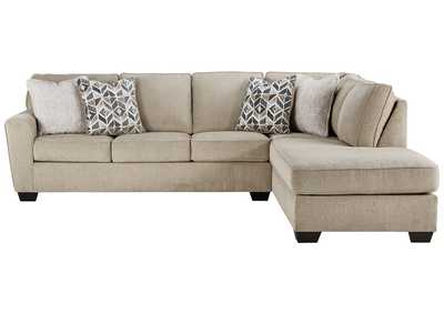 Newest 2pc Maddox Left Arm Facing Sectional Sofas With Chaise Brown Within Decelle 2 Piece Sectional With Chaise Jarons (View 8 of 10)