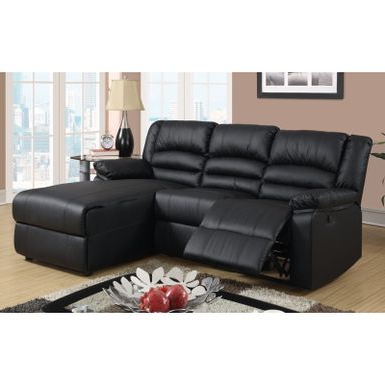 Newest 4pc Crowningshield Contemporary Chaise Sectional Sofas Regarding Rent To Own Modern Bonded Leather Small Space Sectional (View 7 of 10)