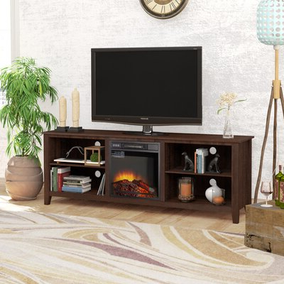 """Newest Bustillos Tv Stands For Tvs Up To 85"""" Intended For Red Barrel Studio® Tv Stand For Tvs Up To 85"""" With (View 3 of 10)"""