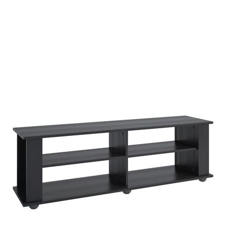"""Newest Corliving Ravenwood Black Tv Stand, For Tvs Up To 68 For Grenier Tv Stands For Tvs Up To 65"""" (View 7 of 10)"""