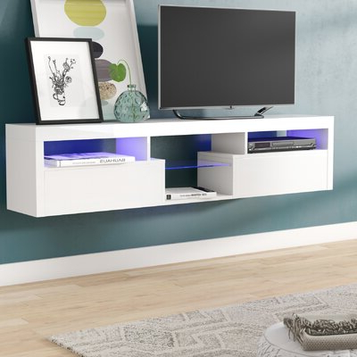 """Newest Ezlynn Floating Tv Stands For Tvs Up To 75"""" Within Floating Tv Stands & Entertainment Centers You'll Love In (View 7 of 10)"""
