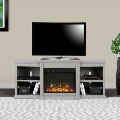 """Newest Hetton Tv Stands For Tvs Up To 70"""" With Fireplace Included Intended For Stowe Tv Stand For Tvs Up To 70"""" With Electric Fireplace (View 2 of 10)"""