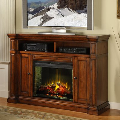 """Newest Miconia Solid Wood Tv Stands For Tvs Up To 70"""" In Find The Perfect Fireplace Tv Stands & Entertainment (View 8 of 10)"""