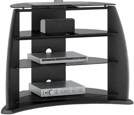 """Newest Sonax Fp 3000 Wide Tv Stand, For Use With Up To 32""""  46 With Tv Stands With Cable Management (View 6 of 10)"""