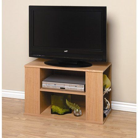 Oak Tv Stand, For Tvs Up To 32 Inch, Brown (View 5 of 10)
