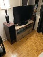 Oakville Wide Tv Stands Pertaining To Most Current Tv Tables And Entertainment Unit (View 9 of 10)