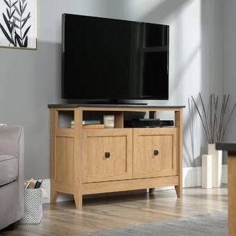 """Orren Ellis Makiver Floating Tv Stand For Tvs Up To 78 In 2018 Lionel Corner Tv Stands For Tvs Up To 48"""" (View 2 of 10)"""