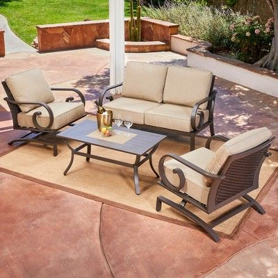 Outdoor Sofa Sets (View 10 of 10)
