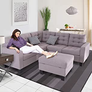 Palisades Reversible Small Space Sectional Sofas With Storage Regarding Most Current Amazon: Good & Gracious Sectional Sofa Set, L Shaped (View 5 of 10)