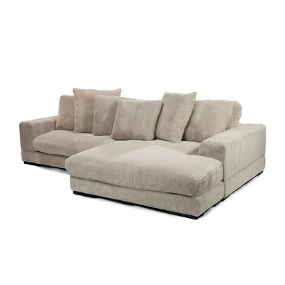 Paul Modular Sectional Sofas Blue Pertaining To Most Recently Released Moe's Home Collection Plunge Modular Sectional & Reviews (View 6 of 10)
