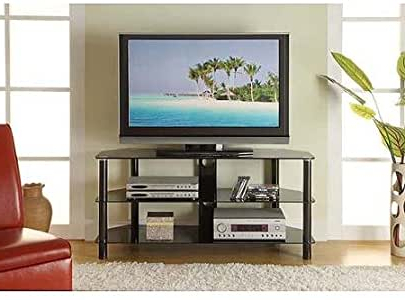 """Paulina Tv Stands For Tvs Up To 32"""" Pertaining To Most Recent Amazon: Innovex Concord Black Tv Stand For Tvs Up To (View 10 of 10)"""