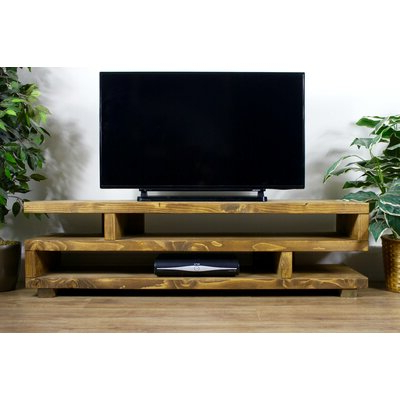 """Popular Ailiana Tv Stands For Tvs Up To 88"""" Within Alpen Home Remi Solid Wood Corner Tv Stand For Tvs Up To (View 1 of 10)"""