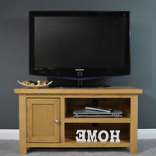 Popular Astoria Oak Tv Stands With Regard To Small Oak Tv Stand (View 4 of 10)