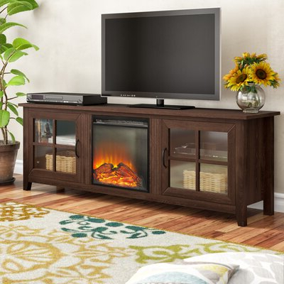 """Popular Find The Perfect Fireplace Tv Stands & Entertainment Intended For Neilsen Tv Stands For Tvs Up To 50"""" With Fireplace Included (View 1 of 10)"""