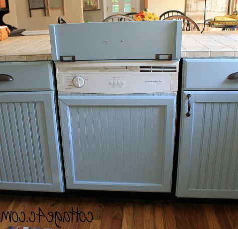 Popular Lucas Extra Wide Tv Unit Grey Stands For How To Cover Up Dishwasher To Look Like A Built In Cabinet (View 7 of 10)